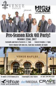 Pre-Season Kick Off Party! @ Venue Naples | Naples | Florida | United States