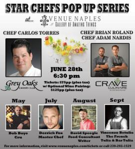 Crave Culinaire's Pop Up Dinner Experience @ Venue Naples   Naples   Florida   United States