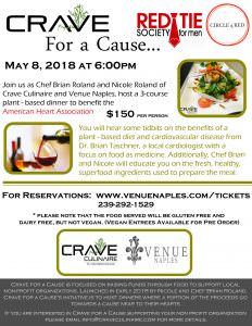 CRAVE For a Cause… Red Tie Society @ Venue Naples | Naples | Florida | United States