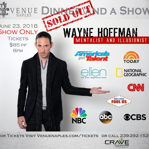 Wayne Hoffman Event Sold Out copy