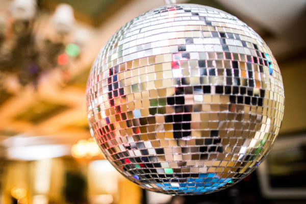 Disco Ball at Reception