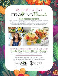 Mother's Day - Craving Brunch @ Venue Naples | Naples | Florida | United States